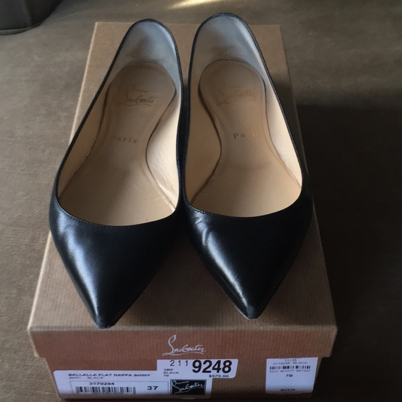 6ac7e3ed827 Christian Louboutin Shoes - Christian Louboutin Ballalla Flats Black Nappa